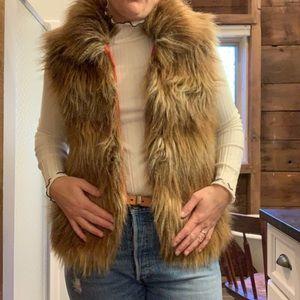 Jack Faux Fur Vest M